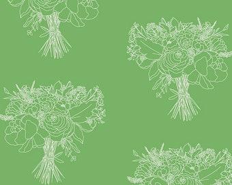 Indigo & Aster - Lush Bouquet by Bari J. for Art Gallery Fabrics, IDA-14809