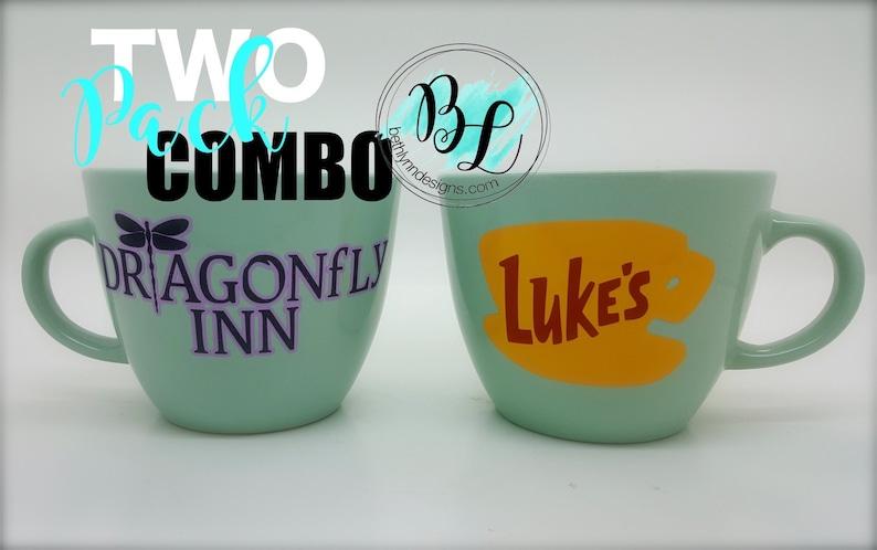 ORIGINAL Luke's Diner Mug Dragonfly Inn Mug  Combo Pack image 0