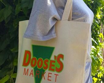 Doose's Inspired Canvas Shopping Bag
