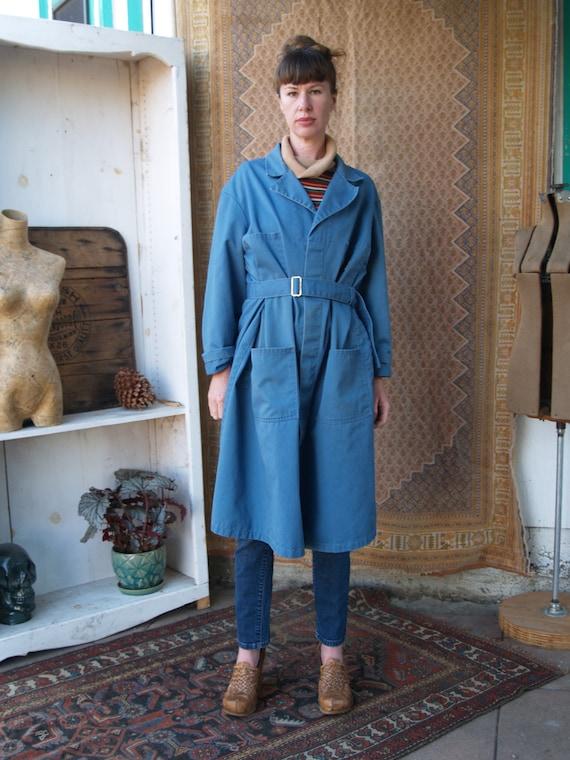 Vintage Seventies Ben Davis Long Shop Coat
