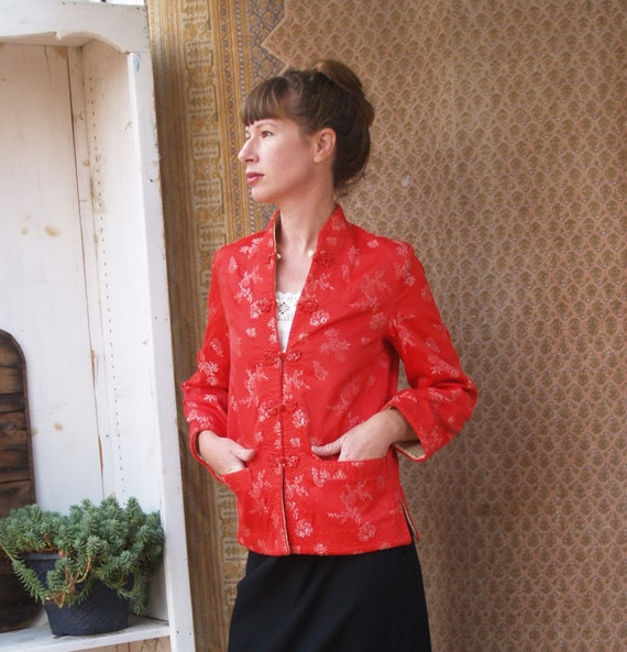 Vintage Reversible Silk Chinese Jacket