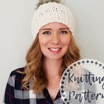 Knitting Pattern - Moxie Hat - Knit Hat Pattern