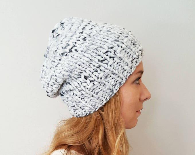 Knit Hat - Baxter Hat - Marble