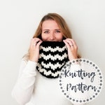 Knitting Pattern - Knit Cowl Pattern - Fair Isle Pattern - Katahdin Cowl Pattern