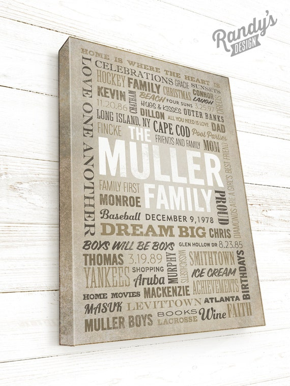 Winter Words Sign Seasonal Word Art Home Decor Sign 8x12 inch