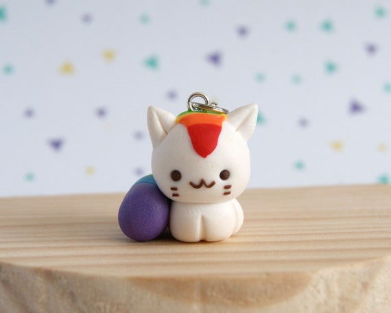 Cats Lovers Charms And Pendants Clay