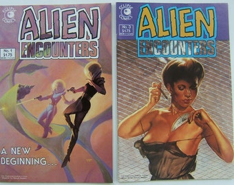 ALIEN ENCOUNTERS issue 1 and 3