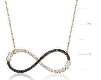 Silver Infinity Pendant - IJ1-1325