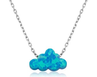 Silver Cloud Necklace - IJ1-2053