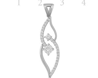 Swarovski Single Stone Necklace - IJ1-1051