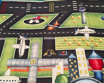 Airport Playmat, just add airplanes! ( not included) 25 X 42 inches of fun!