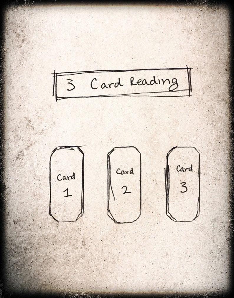 3 Card Tarot Reading Querent's Choice image 0