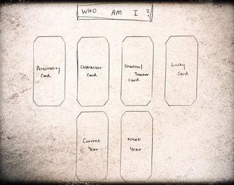 Who Am I?  Tarot Reading