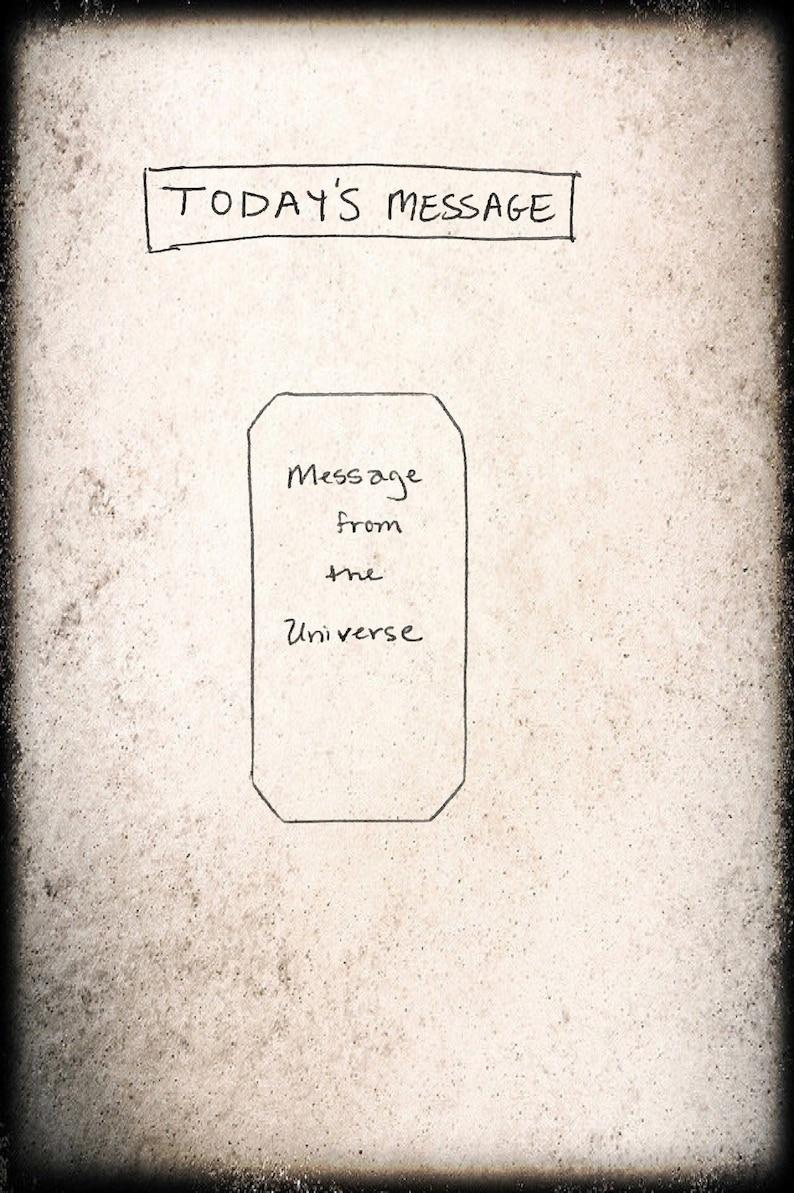 Single Card Message from the Universe Tarot image 0