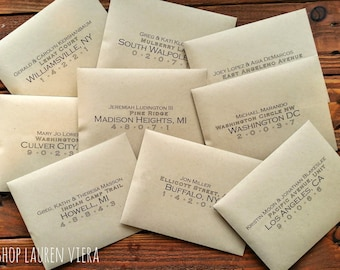 Beautiful Custom Printed Envelopes