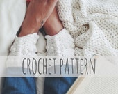PATTERN for Crochet Ankle Cuff Barefoot Sandals Beach Wedding Shoes // Gypsy Warrior Ankle Cuffs PATTERN