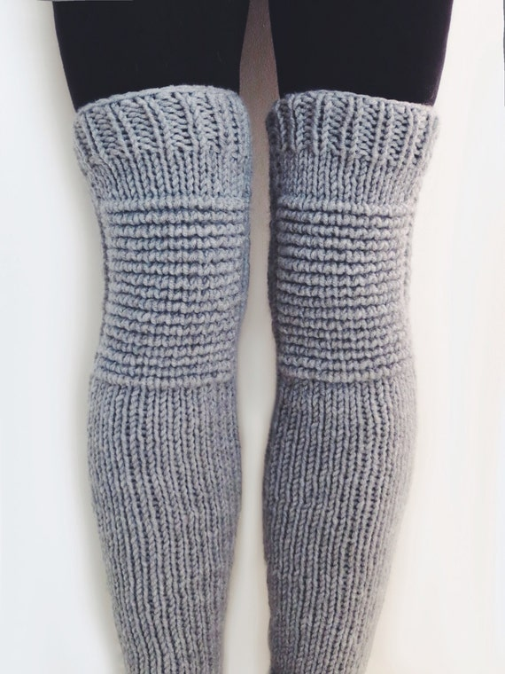 Pattern For Knit Leg Warmers Motorcycle Padded Quilted Etsy