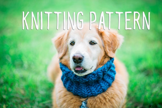 Dog Knitting Pattern Easy Knitting Pattern Knit For Your Etsy