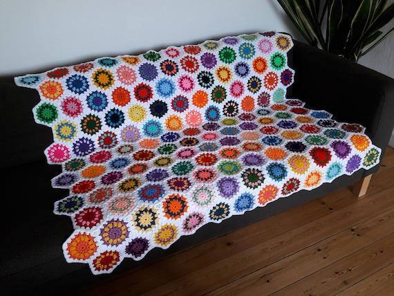 Colorful Throw Blankets Unique Boho Home Decor Boho Throw Blanket Colorful Throw Blanket Etsy
