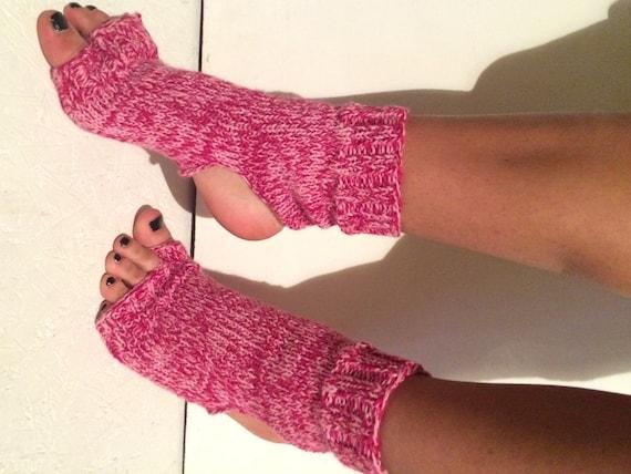 multicolor yoga socks hand knit yoga socks Pilates Socks   women socks    Dance Socks Slipper Socks Women  Socks  Colorful Hipster Socks