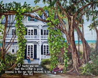 Banyan Beach House - Psalm 34- download