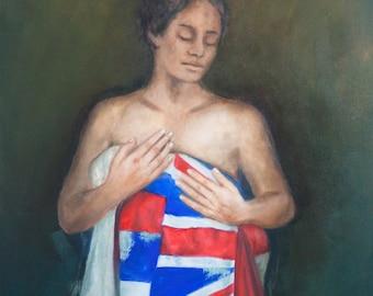Ka Hae Hawaii -  Hawaiian Art print