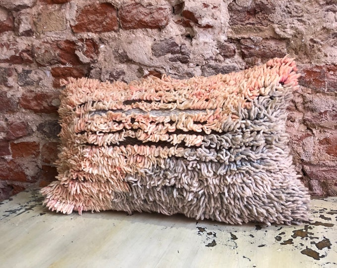 Featured listing image: Vintage Moroccan berber boujaad pillow
