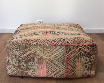 Kilim floor pillow | Etsy