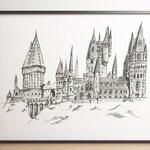 Hogwarts Castle, Harry Potter Fan Gift
