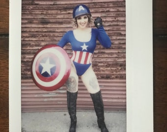 LAST! One of a kind Captain America instax
