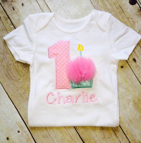 Personalized First Birthday Outfit Shirt