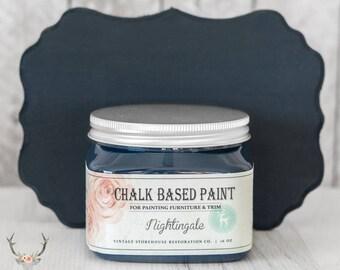 Peinture - à base d'entrepôt Vintage craie Rossignol