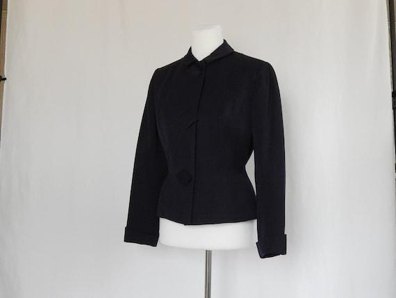Vintage 40s Forties Women's Jacket Blazer Midnight