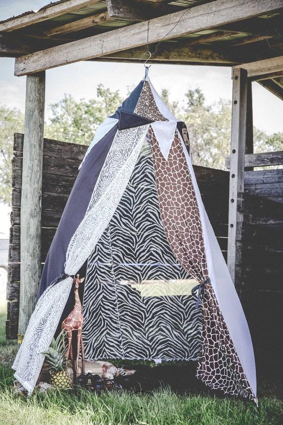 brand new 519a7 e4933 Wild Bed Canopy, play tent, safari reading nook, big 5