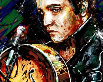 Elvis Art, Elvis Presley Original, Elvis Painting Art Print