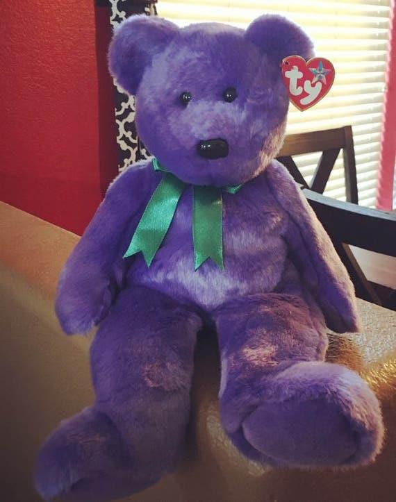 Ty Employee Bear Beanie Babie Collector Original  e07c7af23613