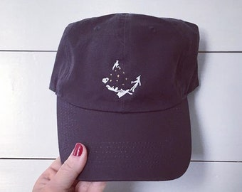 a4e1620bf7926 Peter Pan embroidered baseball Disney dad hat- Custom monogramming  available- Offered in 13 colors!