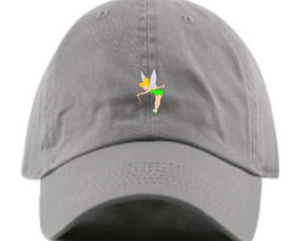 b36d936a0942c Tinkerbell embroidered Disney baseball Dad hat-- Peter Pan Custom  Monogramming and 13 colors available!
