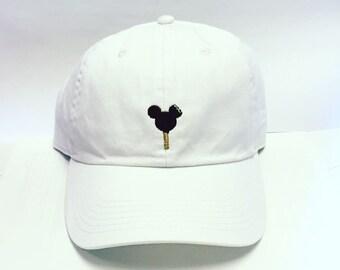 e3fbcb8b8a5b2 Mickey Ice Cream Bar Baseball hat Disney World Disneyland dad hat- Adult  Size-Monogramming available!