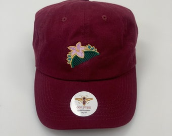 11a3af6b34553 Mulan hair comb Embroidered Disney baseball dad hat- custom monogramming  and 13 colors available!