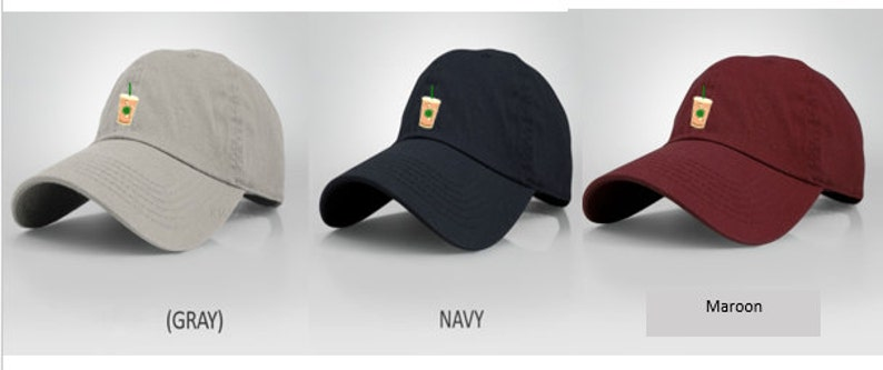 e5a4052756b Iced Coffee Dad Hat monogramming custom phrases available