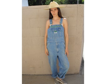 b83d6c9b3b Liberty Overalls    vintage 70s cotton jumpsuit denim boho hippie high  waist jeans dress faded 1970s hippy jean    O S