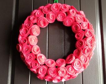 Holiday Wreath - Elegant Wreath - Christmas Wreath - 14 Inches