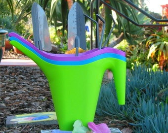 Gardening Tools Gift Set colorfull Watering Can , Cultivator, Trowell, Transplanter SALE