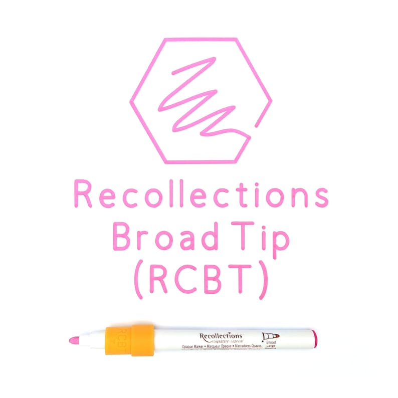 Recollections Pen Adapters Broad Tip Marker, Extra Fine Writer Maker, Explore Air 2, Explore Air for Cricut Machines