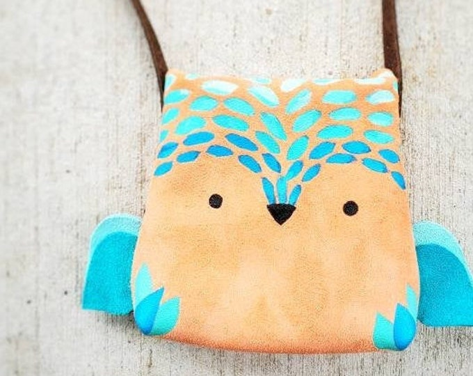"Mini Messenger toddler purse bag, ""ANIMAL PACK - SPARROW"" mini purse, messenger, toddler purse, toddler bag"