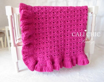 Crochet PATTERN 49 - Hollywood Series - Crochet Baby Blanket PATTERN 49 - Instant Download PDF