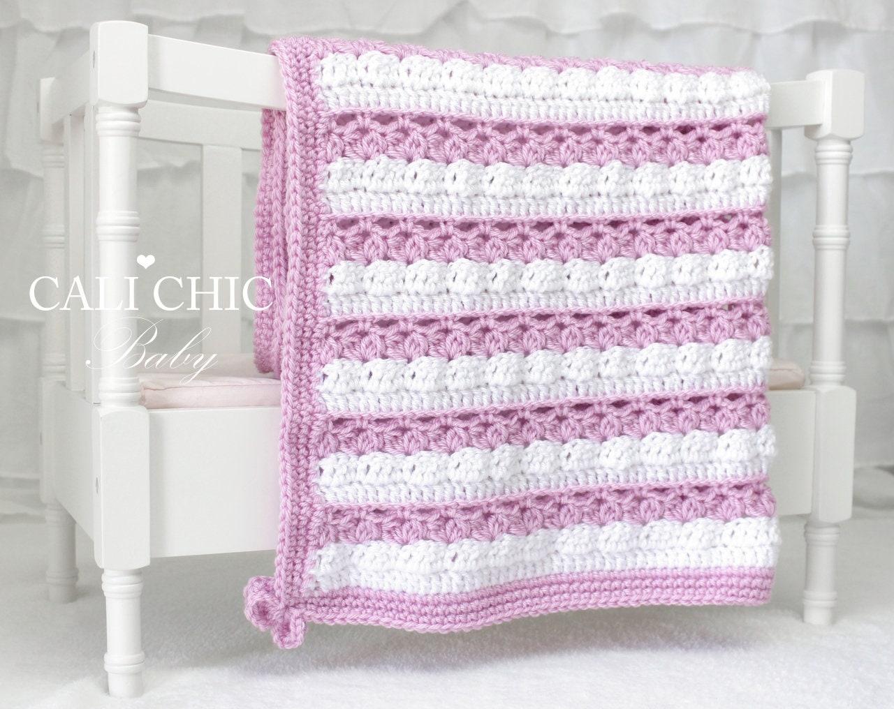 Crochet Baby Blanket Pattern 82 Honey Bunny Blanket Etsy