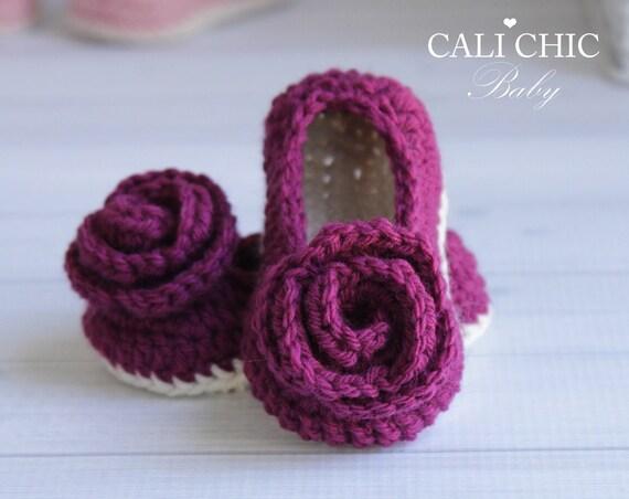 Crochet Pattern 324 Charlotte Baby Shoes Pattern Crochet Etsy