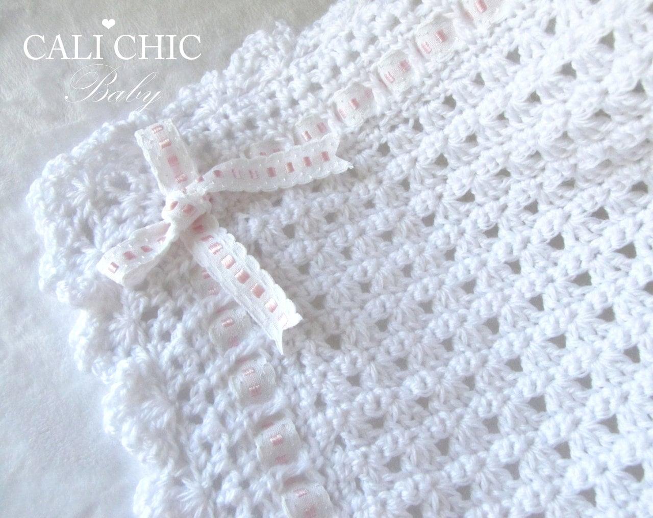 Crochet Pattern 41 Christening Blanket Pattern 41 Baby Etsy
